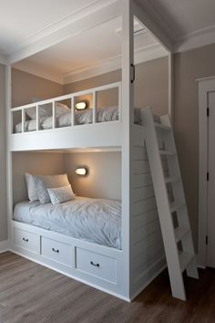 Bunk Beds are a very popular option for the growing family, and if you look for . - Bunk Beds are a very popular option for the growing family, and if you look for a few ideas in this - Toddler Bunk Beds, Bunk Beds For Girls Room, Bunk Bed Rooms, Bunk Beds With Stairs, Cool Bunk Beds, Kid Beds, Bunkbeds For Small Room, Bunk Bed Ideas For Small Rooms, Bed Rails