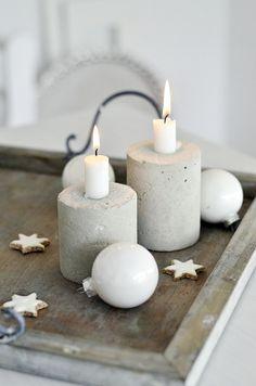 Concrete* Vielleicht kann man ja auch mal alte Weihnachtskugeln mit Beton füllen?