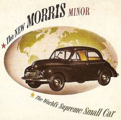 1951 Morris Minor 2 Door Sedan.