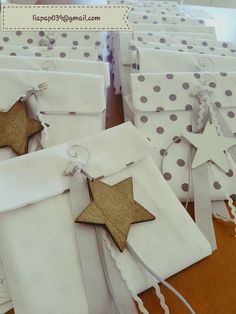 Boy Baptism, Christening, Baptism Favors, Christmas Paper Crafts, Twinkle Twinkle Little Star, Baby Party, Holidays And Events, Gift Bags, First Birthdays