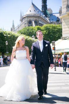 The happy couple: http://www.stylemepretty.com/destination-weddings/2015/02/09/romantic-parisian-destination-wedding/   Photography: One & Only Paris - http://oneandonlyparisphotography.com/