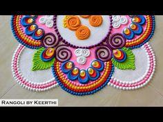 Krishna janmashtami special rangoli l peacock rangoli designs l Krishna jayanti rangoli l kolam - YouTube Rangoli Designs, Diwali, Krishna, Beach Mat, Outdoor Blanket, Decoration, Youtube, Decor, Deko