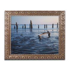 Jenny Newland 'Collies 2' Ornate Framed Art