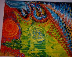 Jasmina Vladimirova,La Cathédrale et les Avions de chasse, 81x65 cm, Peinture à L'Huille sur toile, Exposition à Galerie  Aktuaryus à Strasbourg, 2003 (28), Collection privée