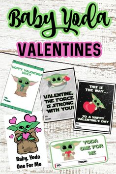 I've gathered 7 Free Printable Baby Yoda Valentines you can print out and gift to friends, family and the one you love. Ya know, the one you love just about as much as you love Baby Yoda. #babyyoda #themandolorian #babyyodavalentines #babyyodaprintable #starwarsprintables