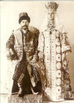 On becoming, at 26, the 18th in the Romanov line to rule Russia since 1613, Nicholas immediately took as his czarina Alexandra, a granddaughter of Queen Victoria. He proved a better husband than monarch. Comfortable only with his family and inner court, Nicholas was easily swayed by advisers like the semiliterate faith healer Rasputin. Isolated from his subjects, he had no grasp of the vast unrest that would lead to the Russian Revolution - and to the violent end of the Romanov succession.