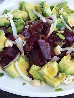 napa farmhouse 1885™: roasted beet and avocado salad with meyer lemon marmalade vinaigrette #summerfest