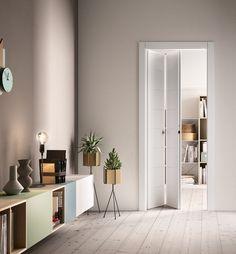 Puerta plegable / de madera INDUE FerreroLegno