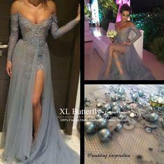 Find More Prom Dresses Information about Custom made Sweetheart Neck Sheer Lace Long Sleeve Prom Dresses 2015 Sparkly Beading Pearls High Slit Modest Formal Party Gowns,High Quality gowns china,China dresses and gowns Suppliers, Cheap dress tie from xlbutterfly on Aliexpress.com