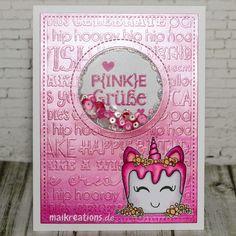 maikreations: Happy Birthday Birka - Happy Crafty Girls Blog Hop