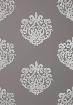 ARRAN, Metallic on Dark Taupe, AT1449, Collection Lyric from Anna French