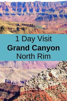 1 Day Visit Grand Canyon North Rim - - Grand Canyon North Rim Day Trip - How to enjoy a PERFECT day at the Grand Canyon without crowds - Find out 5 GREAT reasons to visit North Rim. Grand Canyon Sunrise, Grand Canyon Hiking, Grand Canyon Railway, Grand Canyon South Rim, Trip To Grand Canyon, Grand Canyon Arizona, Grand Canyon National Park, National Parks, Grand Canyon Things To Do