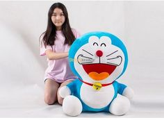 94.50$  Buy now - http://ali68a.worldwells.pw/go.php?t=32242249766 - Fancytrader 26'' / 65cm Cute Giant Stuffed Doraemon Toy, Best Gift for Kid, 2 Expressions Available! Free Shipping FT50041 94.50$