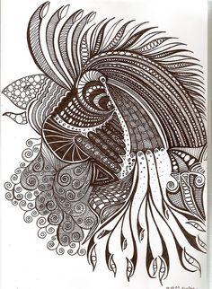 Cock-a-doodle by Flwunk, via Flickr