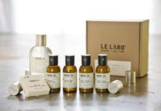 Le Labo hotel bath products