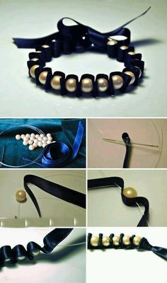 Bracelet - Diy i love this- so simple and easy to do