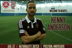 New signing Kenny Anderson.