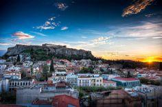 Sunrise in Athens