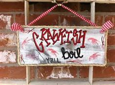 crawfish boil sign - - Yahoo Image Search Results