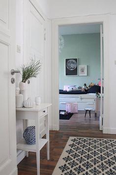 interior - intérieur - design - minimalism - minimalismus ... - Trkise Wand