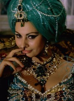 """Sophia Loren. I think this may be from director Stanley Donen's """"Arabesque""""."""