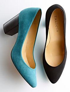 Talbots - Eve Suede Pumps   Heels  