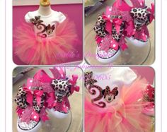 Minnie Mouse Tutu Set by MablesD on Etsy