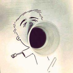 caffè sbadiglio