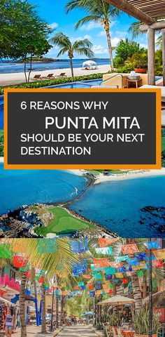 Punta Mita is the place to be on Mexico's Pacific Shores and is firmly at the top of the travel 'to-do' lists for those with their finger on the pulse.