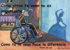 cómo nos ven o cómo nos vemos, this is the most important thing:-)
