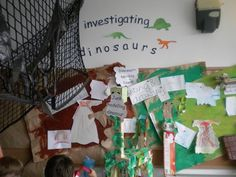 Investigating Dinosaurs Display, classroom displays, class display, Lizard, Art, adventure, create, Early Years (EYFS), KS1& KS2 Primary Teaching Resources