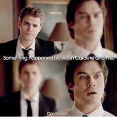 Damon ships it Vampire Diaries Wallpaper, Vampire Diaries Damon, Vampire Dairies, Vampire Diaries The Originals, Dystopian Society, Vampire Shows, Tvd Quotes, The Salvatore Brothers, Damon And Stefan