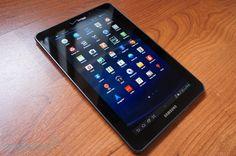 Samsung Galaxy Tab 7.7 LTE  - Frontside