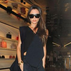 Buzzing: Victoria Beckham Takes Street Style to the Next Level at Her Estée Lauder Collection Preview