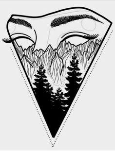 Dark Art Drawings, Art Drawings Sketches Simple, Pencil Art Drawings, Tattoo Sketches, Easy Drawings, Tattoo Drawings, 22 Tattoo, Sketch Inspiration, Pen Art