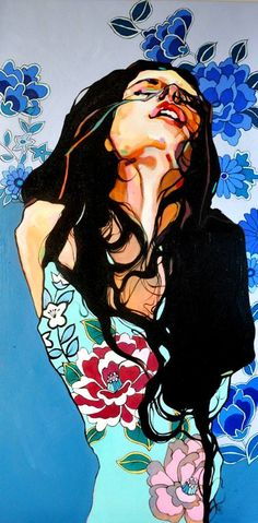 //Dominik Jasinski #art #painting #woman