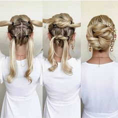 Scarf Hairstyles, Cool Hairstyles, Hairstyle Ideas, Bob Hairstyle, Natural Hairstyles, Easy Wedding Hairstyles, Nurse Hairstyles, Halloween Hairstyles, Black Hairstyle