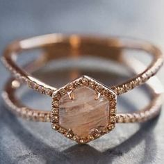 7 Non-Traditional Engagement Ring Stones That Are Trending Big Time....THAT OPAL!