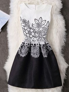 SHARE & Get it FREE | Sleeveless Back Zip Floral A-Line DressFor Fashion Lovers only:80,000+ Items • New Arrivals Daily • Affordable Casual to Chic for Every Occasion Join Sammydress: Get YOUR $50 NOW!