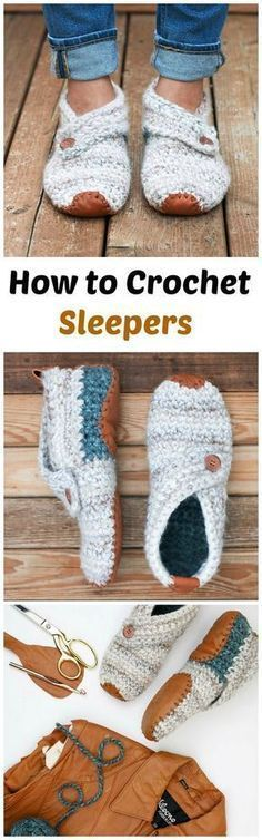 Crochet Stylish Slippers Crochet slippers Related posts:HatsGreat Crochet Baskets Free PatternsCoat Mila - Instructions & PatternsThe Easy Lace Crochet Scarf makes use of a little less than one skein of yarn. Crochet Boots, Crochet Slippers, Love Crochet, Learn To Crochet, Crochet Clothes, Knit Crochet, Crochet Slipper Pattern, Crochet Summer, Crochet Woman