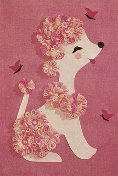 Flower Loom Kits poodle. This would be fun with cutting machine and bloom loom!