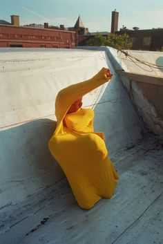 Arielle Bobb-Willis: Colored Garments In Contortion — Thisispaper — What we save, saves us.
