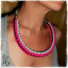 SCOOBY DOO. Collar de Trapillo / T-Shirt Necklace