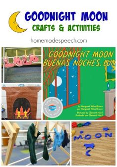 Goodnight Moon | http://homemadespeech.com/goodnight-moon/