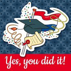 Geslaagd - Diploma, verkrijgbaar bij #kaartje2go voor €1,89