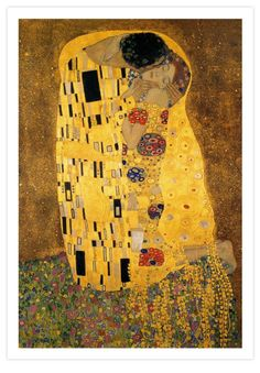 Gustav Klimt | The Kiss (Detail) Print