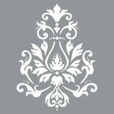 Schablon Brocade - Vintage