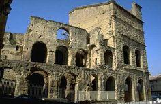 Roman Theatre in Orange, France  Best Roman architecture is not in Rome