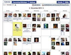 Facebook Calendar and Events allows people to drag and drop pictures of people into dates and simply highlight them to see the details. (2012, Thapa, S) Facebook Birthday, Pictures Of People, Ancient History, Social Networks, Highlight, Dates, Calendar, Drop, Events