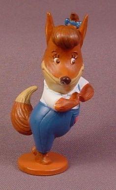 """Disney Chicken Little Foxy Loxy PVC Figure, 3 1/2"""" Tall"""